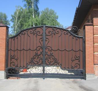 Кованые ворота №58