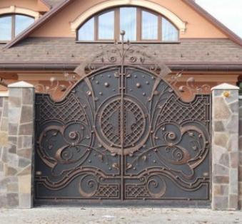 Кованые ворота №59