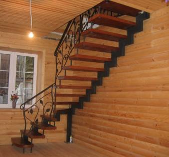Интерьерная лестница №5