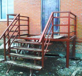 Уличная лестница №5