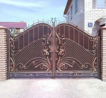 Кованые ворота №60
