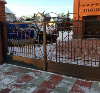 Кованые ворота №61