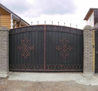 Кованые ворота №62