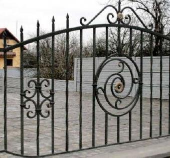 Кованый забор №93