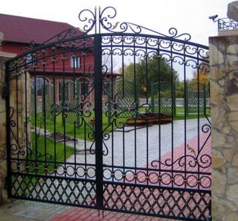Кованые ворота №63