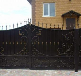 Кованые ворота №64