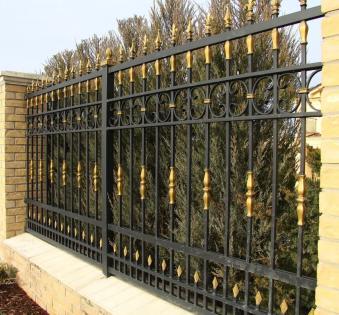 Кованый забор №95
