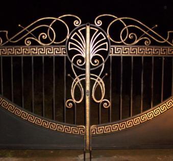 Кованые ворота №66