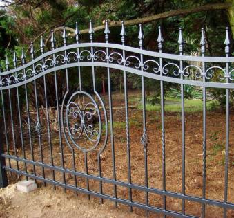 Кованый забор №98