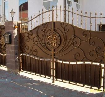 Кованые ворота №67