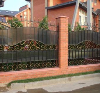 Кованый забор №99