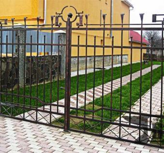 Кованый забор №101