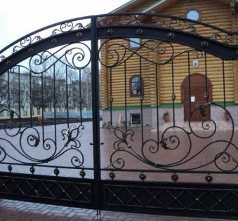 Кованые ворота №69