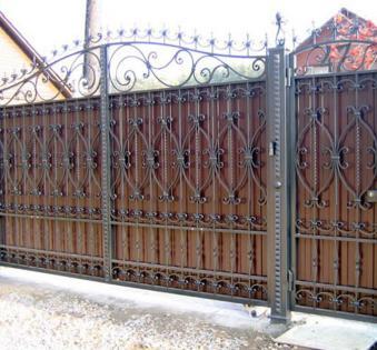 Кованые ворота №6