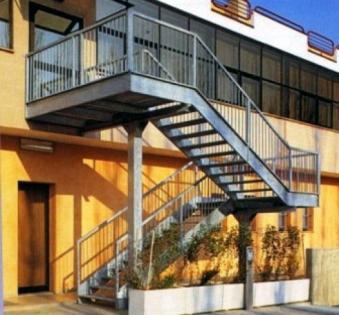 Уличная лестница №6