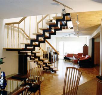 Интерьерная лестница №6