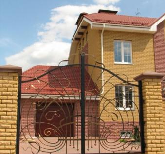 Кованые ворота №70