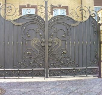 Кованые ворота №71