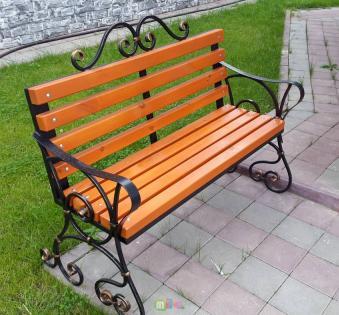 Кованые скамейки и мебель №48
