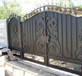 Кованые ворота №72