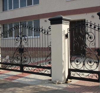 Кованые ворота №73