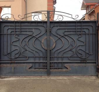 Кованые ворота №74