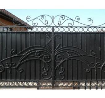 Кованые ворота №75