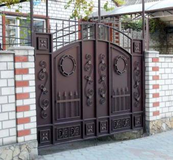 Кованые ворота №76