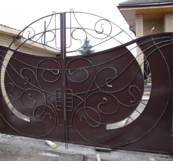 Кованые ворота №78