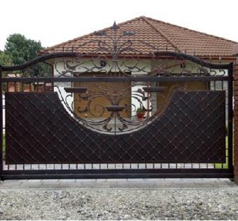 Кованые ворота №79