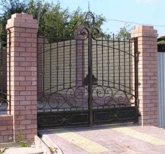 Кованые ворота №7