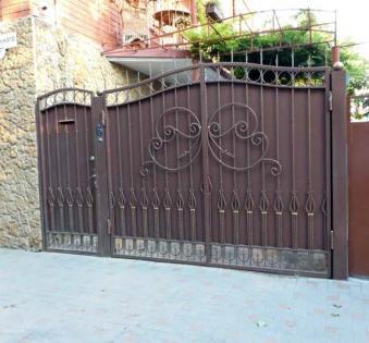 Кованые ворота №80