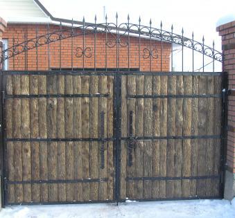 Кованые ворота №81