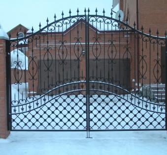 Кованые ворота №83