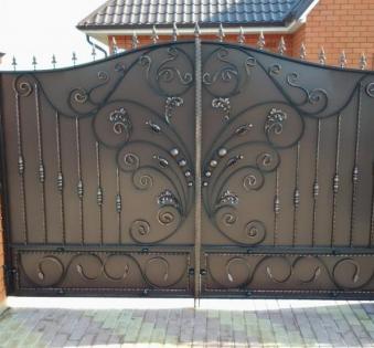 Кованые ворота №85
