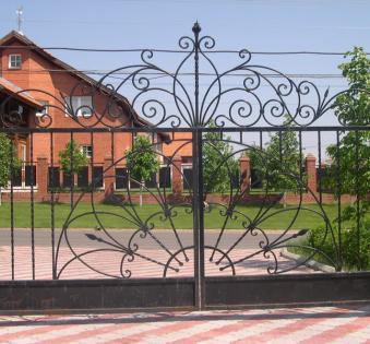 Кованые ворота №86