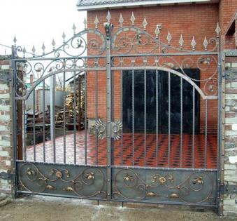 Кованые ворота №87