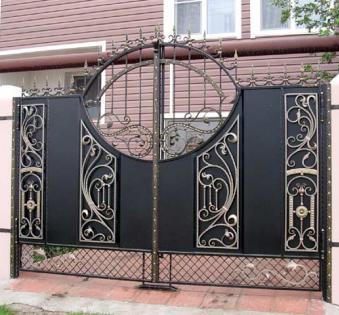 Кованые ворота №88