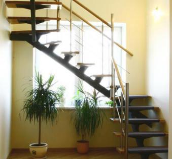 Интерьерная лестница №8