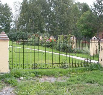 Кованый забор №108