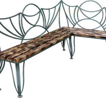 Кованые скамейки и мебель №51