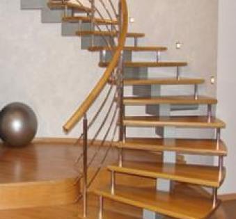 Интерьерная лестница №9