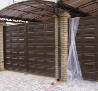 Уличные ворота №9