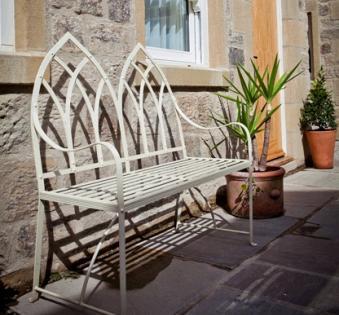 Кованые скамейки и мебель №60