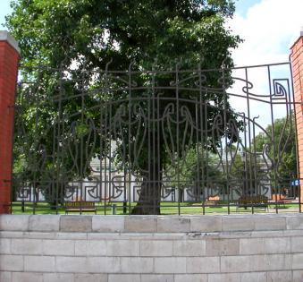 Кованый забор №112