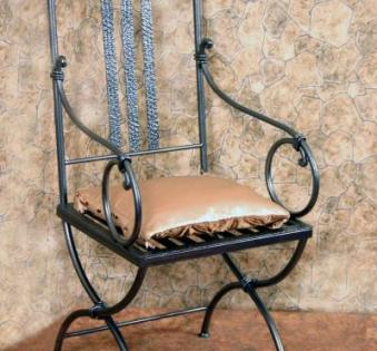 Кованые скамейки и мебель №64