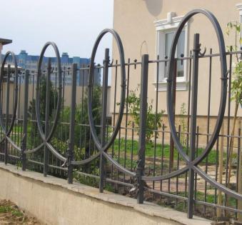 Кованый забор №115