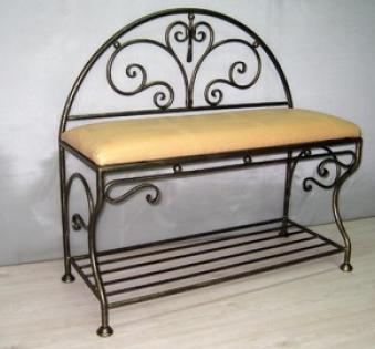 Кованые скамейки и мебель №68
