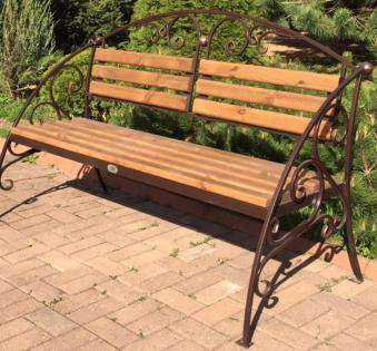Кованые скамейки и мебель №69