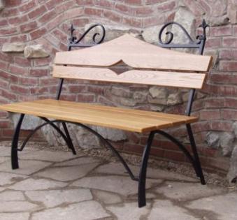 Кованые скамейки и мебель №73